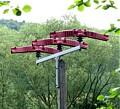 Vogelschutz an Strommast