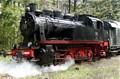 ELNA-Dampflokomotive am Bessunger Forsthaus
