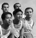 Chinesische Studenten im Akademischen Sportclub an der TH Darmstadt