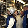 Auszubildende lernen großtechnische Produktionsprozesse kennen