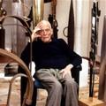 Simon Spierer in seinen Privaträumen, Genf, 2004