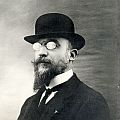 Erik Satie, 1909. Fotografie, Archives de la Fondation Erik Satie, Ornella Volta, Paris