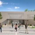 Hörsaalgebäudes am Campus Schöfferstraße / Bild: Hochschule Darmstadt