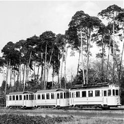 Drei-Wagen-Zug von 1914 / Bild: HEAG mobilo GmbH
