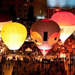 Heißlutftballons / Bild: Internationales Musikinstitut Darmstadt (IMD)