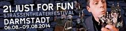 21. Just for Fun Straßentheaterfestival Darmstadt