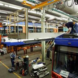 Straßenbahnwerkstatt / Bild: HEAG mobilo GmbH