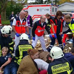 Katastrophenschutzübung / Bild: Feuerwehr Darmstadt