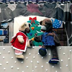 Spielszene aus dem Weihnachtspuppentheater, © Die UmweltBühne