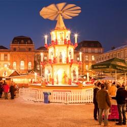 Weihnachtsmarkt Darmstadt / Bild Rüdiger Dunker - Wissenschaftsstadt Darmstadt Marketing GmbH