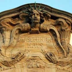 Maschinenhaus der TU Darmstadt