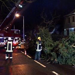 Unwettereinsatz / Bild: Medienbetreuung Feuerwehr Darmstadt