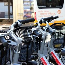 """Call a Bike""-Mietfahrräder - Bild: HEAG mobilo GmbH"