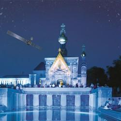 Eine Nacht in Blau / Bild: Darmstadt Marketing/Rüdiger Dunker, ESA