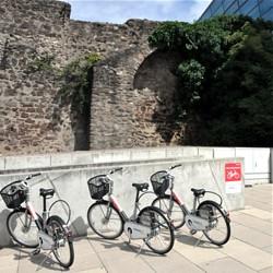 """""""Call a Bike""""-Station am darmstadtium / Bild: Wissenschafts- und Kongresszentrum Darmstadt GmbH & Co.KG"""