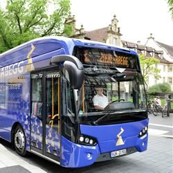 Der VDL Citea SLF 120 Electric wird in Darmstadt getestet / Bild: HEAG mobilo GmbH