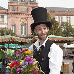 Datterichs Wochenmarkt / Bild: Wissenschaftsstadt Darmstadt Marketing GmbH