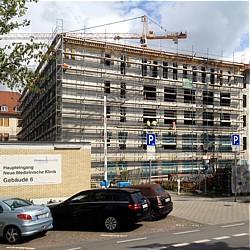 Klinikum Darmstadt feiert Richtfest des ersten Bauabschnitts des Zentralen Neubaus    - Bild: Klinikum Darmstadt GmbH