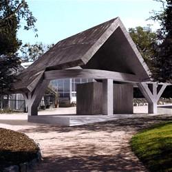 Infopavillon im Botanischen Garten / Bild: TU Darmstadt