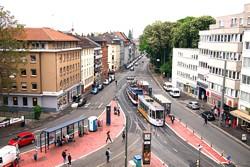 Willy-Brandt-Platz Darmstadt / Foto: HEAG mobilo GmbH