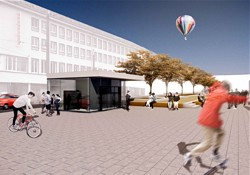 Friedensplatz - Bild: Stadtplanungsamt Darmstadt
