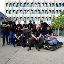 """""""FaSTDa""""-Team der h_da - Bild: Hochschule Darmstadt"""