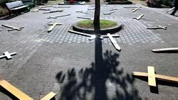Bessunger Friedhof / Bild: Polizeipräsidium Südhessen