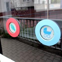 Blauer Taster / Bild: HEAG mobilo GmbH