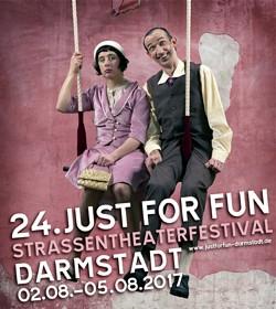 24. Just for Fun Straßentheaterfestival Darmstadt