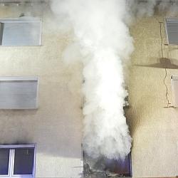 Feuer Roßdörferstraße 2 / Bild: Feuerwehr Darmstadt