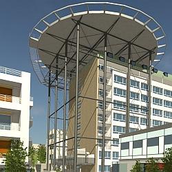 Hubschrauberlandeplatz / Bild: Klinikum Darmstadt GmbH