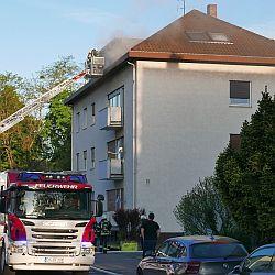 Brand Innenstadt / Bild: Feuerwehr Darmstadt