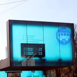 Elektronische Anzeiger / Foto: HEAG mobilo GmbH