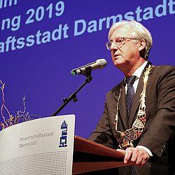 OB Partsch Neujahrsempfang 2019 / Bild: Pressestelle der Wissenschaftsstadt Darmstadt
