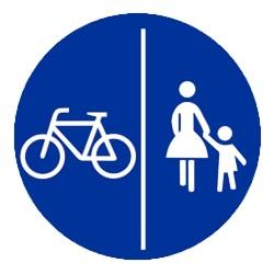 Geh- und Radweg