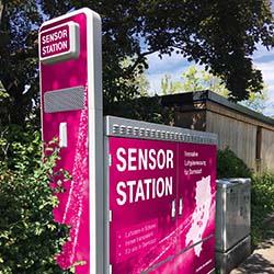 Messstation / Bild: Telekom