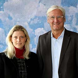 Foto: Oberbürgermeister Jochen Partsch und Katharina Metzker © Wissenschaftsstadt Darmstadt / Lea Stenger