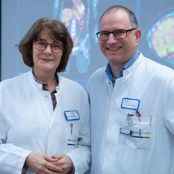 Prof. Dr. Helga Bernhard und Prof. Dr. Christian Weiß / Bild:Klinikum Darmstadt GmbH