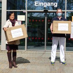 Masken / Bild:Stiftung Alice-Hospital