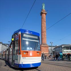 Straßenbahn / Bild: HEAG mobilo GmbH