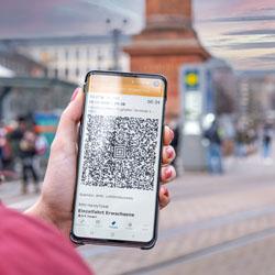 Handyticket / Bild: HEAG mobilo GmbH